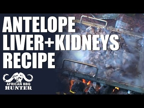 African BBQ Hunter – Antelope liver & kidneys recipe