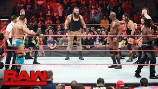 Battle Royal to earn a spot on the Raw Men's Team at Survivor Series: Raw, Oct. 31, 2016