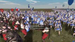 preview picture of video 'Rome Total War Germans VS Scipii'