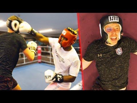 I Sparred KSI Before He Beat Logan Paul (FULL FOOTAGE)