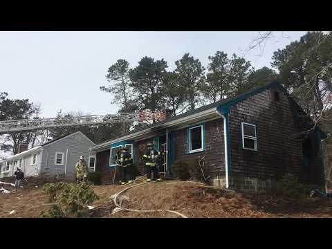 Dennis house fire at 44 Debbie Lane, owner treated for smoke inhalation