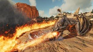 ARK: Scorched Earth #6 - Tìm thấy khe núi lửa, nơi sống của Rồng lửa Wyvern