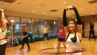 """""""LEFT RIGHT"""" Inna - Weighted Hula Hoop Workout Valeo Club"""
