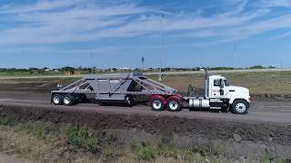 Bottom Dump - Road Construction