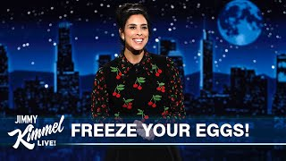 Guest Host Sarah Silverman on Vax Mandates, Bisexual Robin & Greatest Plague Facing Our Nation