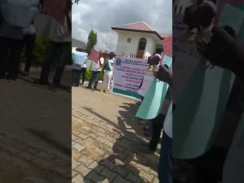 NABTEB  Protested against the alleged invasion of its Abuja Office