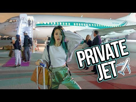 Flying On A Private Jet To Bora Bora! Mp3