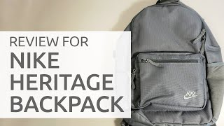 Nike Heritage Backpack REVIEW