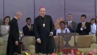 Tertulia en Guatemala con Mons. Javier Echevarría