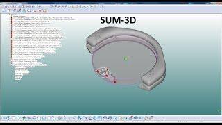 Sum 3D: размещение и просчет стратегии фрезерования/placing crowns and calculating milling strategy