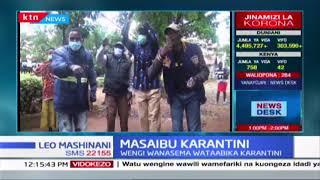 Masaibu Karantini: Waathiriwa awapokea misaadada Kisii, wengi wanasema wanataabika karantini