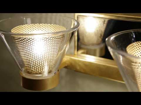 Video for Wink Gold Leaf with Polished Chrome Accents Two-Light LED Bath Vanity