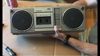Vintage 80's Boombox To Bluetooth DIY Upgrade