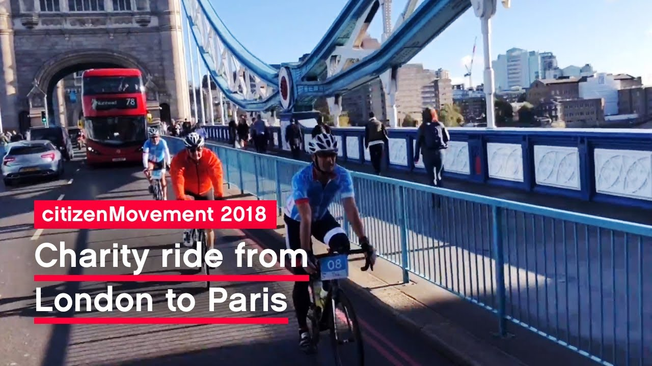 London to Paris ride