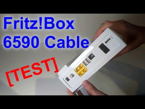 Testbericht: AVM Fritz!Box 6590 Cable (Docsis 3.0 Modem)