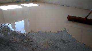 РАСХОД наливного ПОЛА на Комнату 11 м2 КАК залить НАЛИВНОЙ пол наливной пол ВИДЕО