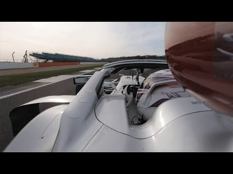 Image: Watch on-board footage of Lewis Hamilton's new W11