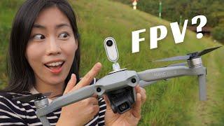 INSTA360 GO on MAVIC AIR 2   FPV drone?