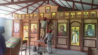 Progress of the construction of the church and the school of Saint John in the city of Les Cayes