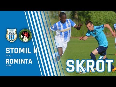 Skrót meczu Stomil II Olsztyn - Rominta Gołdap 0:3