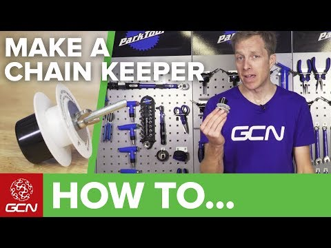 How To Make A Chain Keeper For Less Than $2 | Maintenance Mondays
