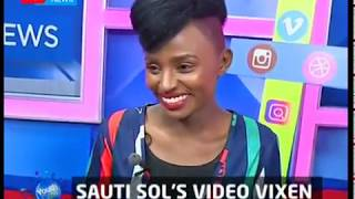 Youth Cafe: Sauti Sol's video vixen