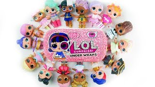 Wrong Heads ! LOL Surprise Biggie Dolls Play Dress up + Under Wraps Mystery Blind Bags