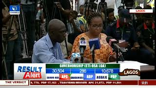 Lagos State Governorship Election Result Collation Pt.7 |The Verdict|