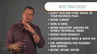 PowerPoint Best Practices - Creating The Killer Business Plan