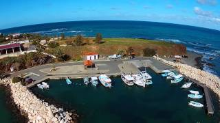 preview picture of video 'Pomos Harbour paphos'