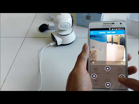 Cách thiết lập Camera mạng thông minh V380 Wifi