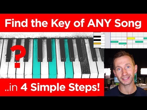 How to Find the Key of ANY Song – 4 Steps!