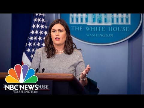 White House Press Briefing (Full) - December 11, 2017 | NBC News