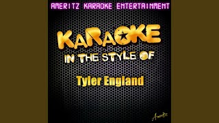 I'd Rather Have Nothing (In the Style of Tyler England) (Karaoke Version)