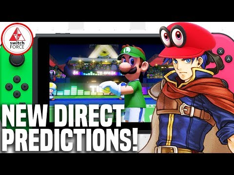 New Nintendo Direct Predictions - Fire Emblem? Odyssey DLC? Third Party Games?