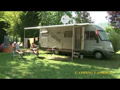 Présentation du camping Larribal