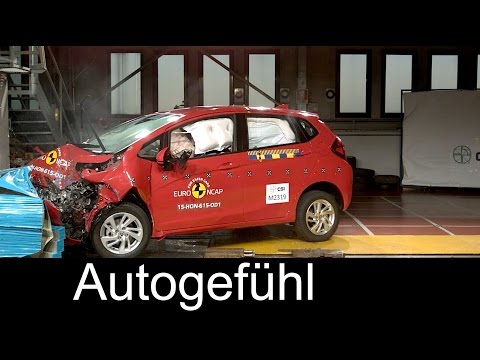 Honda Jazz crash test 5 stars Euro NCAP 2016 - Autogefühl