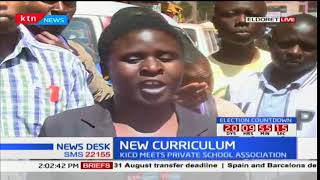 Eldoret residents' reaction to the new curriculum expected to begin this coming January