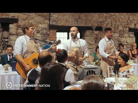Wait and Sing Waiters - Live Singing Waiters