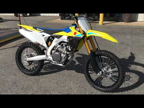 2018 Suzuki RM-Z450 in Greenville, North Carolina