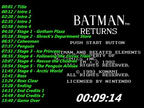 batman returns nes cheat