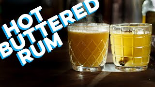 Hot Buttered Rum 2 Ways AND Fat Washing! | How to Drink