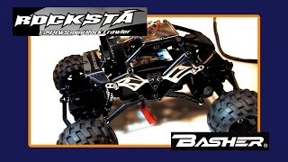 BASHER Rocksta 1:24th Scale Mini Rock Crawler first look -FPV setup