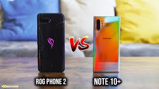 Asus ROG Phone II vs Samsung Galaxy Note10+ - Gaming, Speaker Test & More