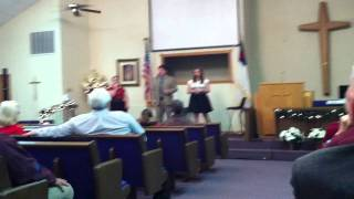 """The Goulds singing """"Silver Bells"""""""