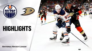 NHL Highlights | Oilers @ Ducks 11/10/19