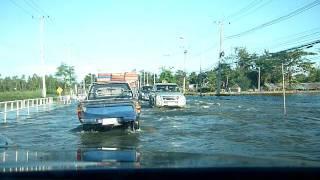 preview picture of video 'น้ำท่วมที่จ.พิจิตรปี54 ตะพานหิน2'