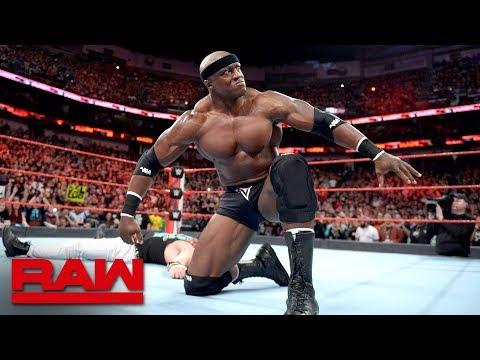Bobby Lashley returns to Raw to take out Elias: Raw April 9, 2018
