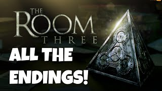 The Room Three (3) - ALL ALTERNATE ENDINGS! - COMPLETE WALKTHROUGH