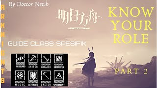 Doctor  - (Arknights) - KNOW YOUR SPECIFIC ROLE! Pahami Class Spesifik / traits di Dunia #Arknights - PART 2 RANGE OPERATOR